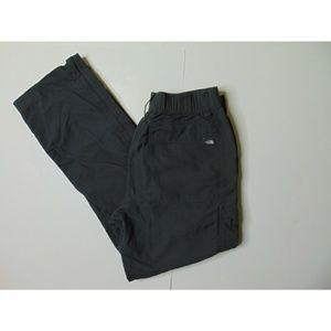 North Face S Gray Convertible Hiking Pants Cargo